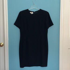 Talbots Black Shirt Sleeved Dress